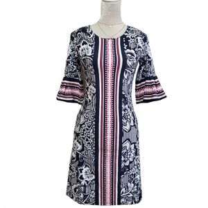 Charter Club Dress Coral Tropicale Floral Print